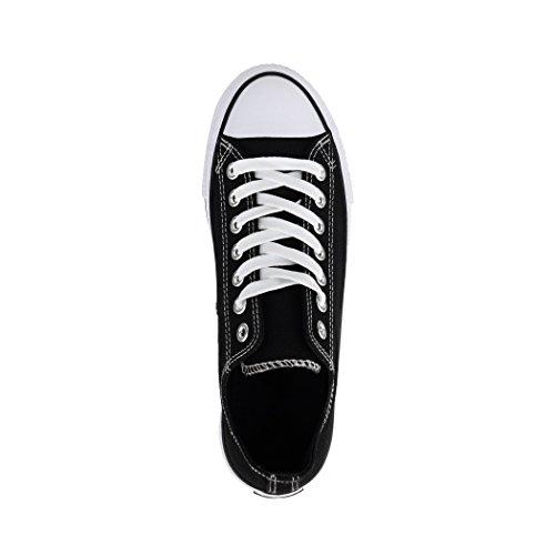 Sneaker Elara Unisex | Damen Herren | Basso In Alto | Chunkyrayan Schwarz