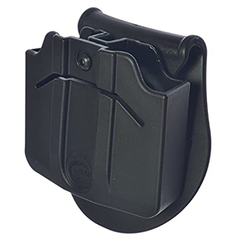 ORPAZ Defense Tactical adjustable 360 rotation, retention Double Magazine Pouch Paddle holster TAURUS 24-7 / CZ P-09 / SIG SAUER P250 FS / COMPACT 9mm
