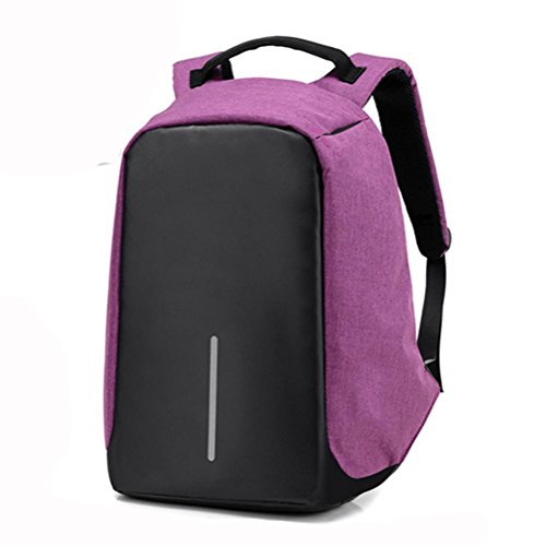 Uomini e donne borsa, il furto dello zaino, sacchetto di spalla casuale, traspirante e resistente, ad alta capacità di viaggiare, la pressione sismica, un elevato comfort , a b
