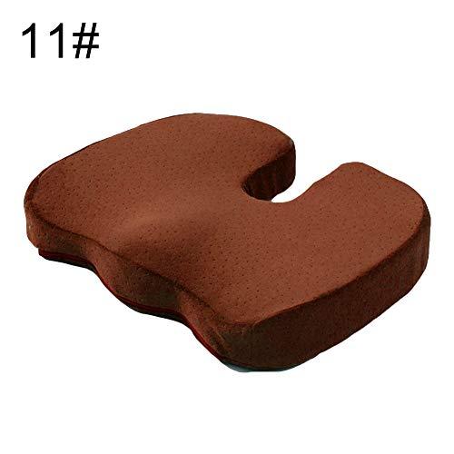 XdremYU Tragbare Memory Foam Gel Sitzkissen Orthopädische Schmerzlinderung Sitzkissen 11# - Voll Xl Matratze Pads