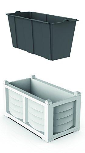 Bama 31965 kit arredo, bianco, 80x42.5x42 cm