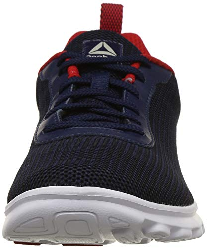 5966cecbb9 ... Reebok Men s Sweep Runner Lp Coll Navy Black Red Rush Running Shoes-8  ...