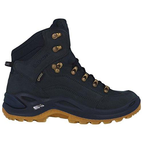 Lowa Womens Renegade Gore-Tex Mid WS Ocean Nubuck Boots 41 EU 80d273b72a6