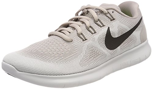 Nike Damen Free RN 2017 Laufschuhe, Beige (Moon Particle/Black/Vast Grey/200), 38.5 EU (Basketball-tennis-schuhe Frauen)