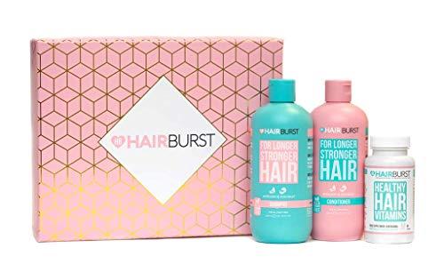 HAIRBURST Shampoo, Conditioner & Original Haarvitamine Kombipackung - Natürliche Vitamine für Haarwachstum - Shampoo und Conditioner für beschleunigtes Haarwachstum und weniger Haarausfall