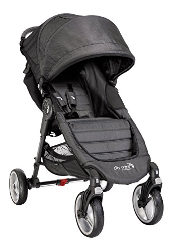 Baby Jogger City Mini 4 - Silla de paseo, color denim negro