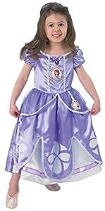 Princesas Disney - Disfraz de Princesa Sofía para niña, infantil 1-2 años (Rubie