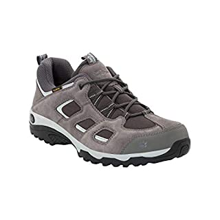 Jack Wolfskin Herren Vojo Hike 2 Texapore Low M Wasserdicht Trekking-& Wanderhalbschuhe, Grau (Tarmac Grey 6011), 48 EU