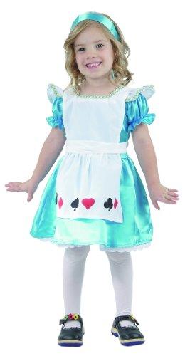 Alice Filles Déguisement pour Enfant Alice au pays des merveilles Parti Costume 2–4ans