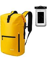 Gonex Wasserdichter Rucksack 30L, mit Laptophülle + Handytasche, Dry Bag Wasserdichter Packsack