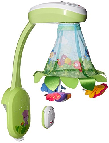 Fisher Price DFP09 2-in-1 Rainforest Musikmobile, mehrfarbig
