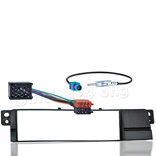 meins24 10515201 Auto Radio Blende Adapter Stecker Antenne DIN - Auto-rahmen
