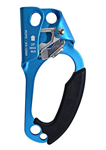 Newdoar Rechts Hand Ascender Handsteigklemme Klettern Ausrüstung 8-13mm