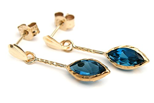 9ct-gold-london-blue-topaz-marquise-drop-earrings