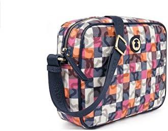 Bolso Bandolera Tous Kaos Vichy de Lona en color marino con bolso verano Tous de regalo