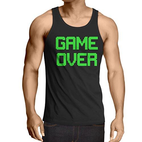 Weste Spiel über lustige Gamergeschenke (X-Large Schwarz Grün) (Do It Yourself Kostüme Für Babys)