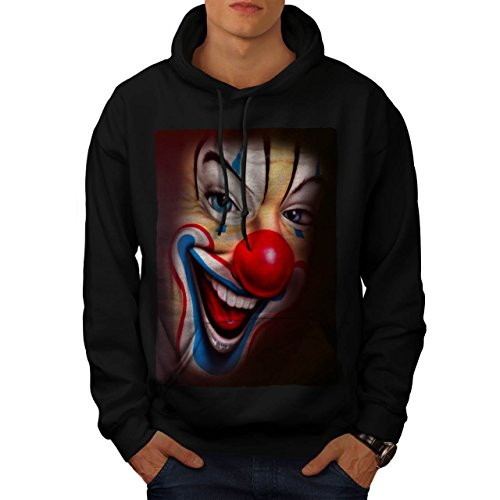 Clown Scary Creepy Horror Men M Kapuzenpullover | Wellcoda
