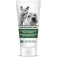 Frontline Champú calmante para Perros y Gatos Pet Care para Piel Sensible, ...