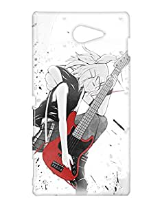 Crackndeal Back Cover for Sony Xperia M2