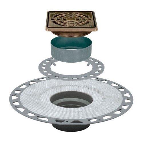 Schluter Kerdi Drain Oil-Rubbed Bronze PVC Version by Kerdi - Kerdi-drain