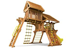 The Bull Commercial Wooden Climbing Frame