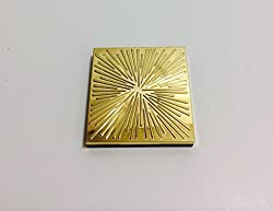 Estee Lauder Limited Edition All Over Shimmer Gold Case 0.34 Oz/9.6 G