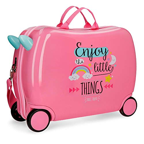 Roll Road Little Things Valigia per bambini 50 centimeters 34 Rosa