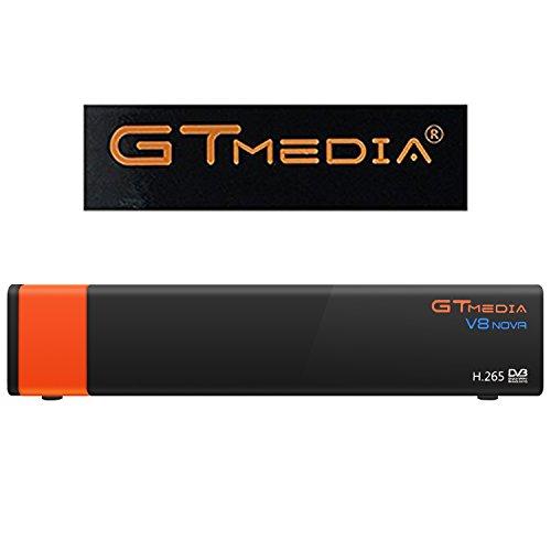 GTMedia V8 Nova DVB S2 TV ricevitore satellitare satellite decoder Support 1080P Full HD PowerVu Biss chiave Newca CCCAM Set-top box, Con Built-in Wifi