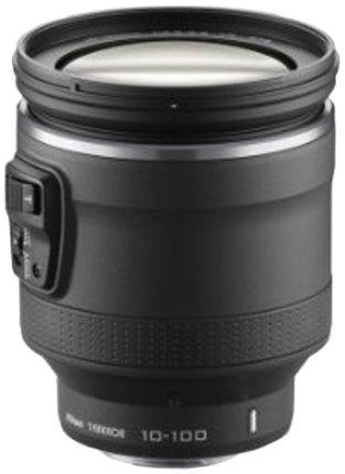 Nikon 1 Nikkor VR 10-100 mm 1:4,5-5,6 PD-Zoom Objektiv schwarz (Nikon 1 J5)
