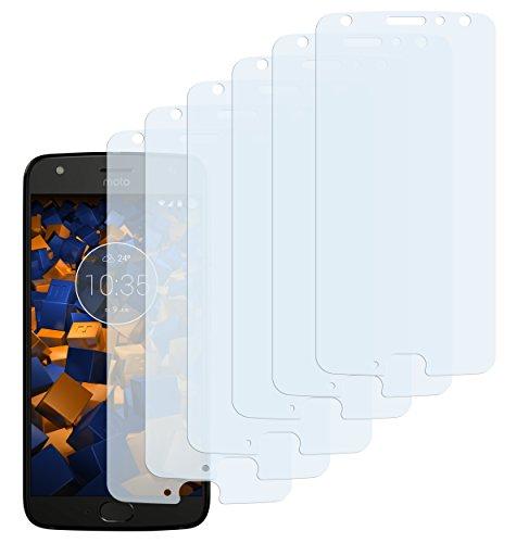 mumbi Schutzfolie kompatibel mit Motorola Moto X4 Folie klar, Bildschirmschutzfolie (6x)