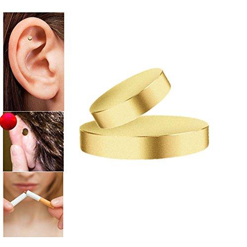 Nikotinpflaster Anti-Rauch-Magnet Rauchen Aufhören magnetisch Patch Ohr Magnet Therapie Akupressur Health Care Anti Rauchmagnet