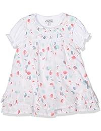 Kanz Baby-Mädchen Bekleidungsset Kleid O. Arm + T-Shirt 1/4 Arm