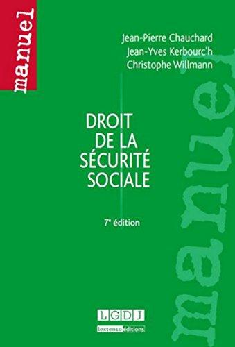Droit de la sécurité sociale, 7ème Ed.