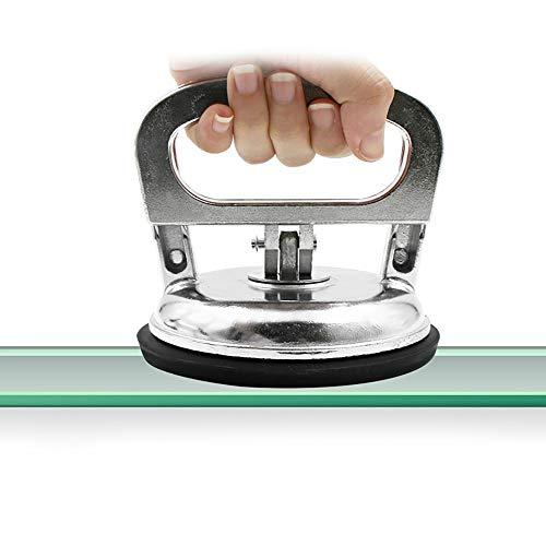 Gaddrt Glas, das Saugfliese-Marmorgranit-Sauger-Platten-50kg-Holding trägt Absaugvorrichtung 12x8.5cm