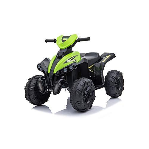 Toyas Kinder Elektrofahrzeug Elektro Motorrad Auto ATV Pocketquad Quad Miniquad Grün