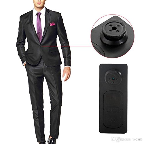 IndiaMart Electronics Mini Pocket Button Hidden Spy Camera Video Camera Motion Detection DV Camcorder  available at amazon for Rs.630