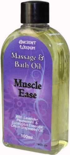 Bade-Öl Flasche (Massageöl und Bade öl Spezial Muskel 100ml)
