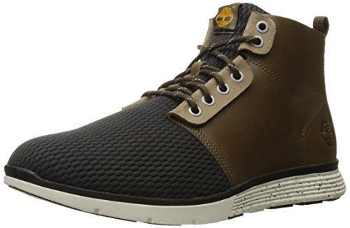 Timberland Men's Killington L/F Chukka Walking Shoe, Scarab Brindle/Olive, 9 M US - Olive Arch