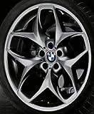 Original BMW Alufelge X5 E70 / LCI Doppelspeiche 215 Ferricgrey in 21 Zoll für vorne