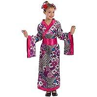 CARNIVAL Novidea Costume Vestito Carnevale Bambina Giapponese Kimono 6 7 8  9 Anni 085852409992