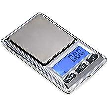 ZHANGYUGE Báscula de Cocina electrónica portátil, hogar de Bolsillo Mini Kit de Dispositivo de pesaje
