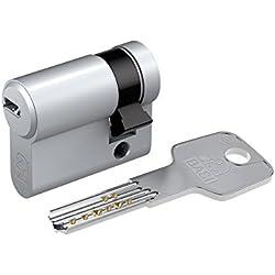 Basi BM Perfil de cerradura (con 3llaves reversible undverstellbarer schließ nariz, 1pieza, 10/40, niquelado mate, bm5020–0010