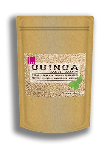 Quinoa Samen weiß 1kg Eiweißquelle als Alternative zu tierischen Quellen
