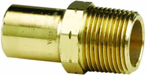 Viega 79420 ProPress Zero Lead Bronze-Adapter mit Stecker 2 Zoll auf 2 Zoll FTG x Stecker NPT -