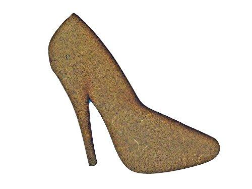 High Heel Schuh MDF Laser geschnitten Craft Leerzeichen in verschiedenen Größen Shoe - Medium QTYx5