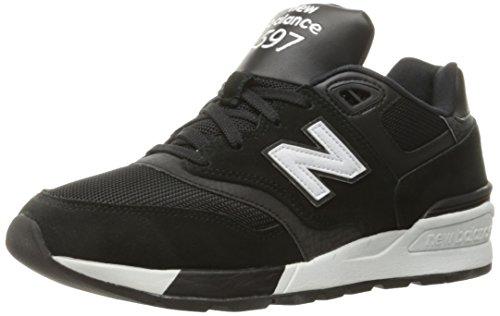 New Balance 597, Scarpe da Corsa Uomo, Nero (Black), 43 EU
