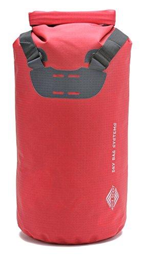 Aqua Quest TOTE Sac à Dos Rouge 20L Imperméable Sac de Jour pour Kayak, Bateau, Surf, Ski, Planche à Neige