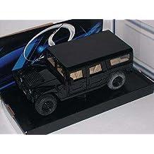 Hummer H1 H 1 Schwarz Schwarz Black Metallmodell 1/24 Maisto Modellauto Modell Auto