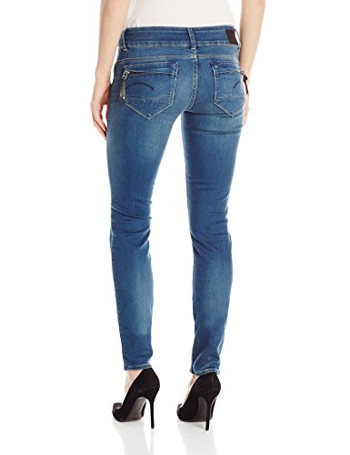 G-STAR RAW Damen Jeans Midge Cody Low Skinny Blau (Power Wash 3628.2422)
