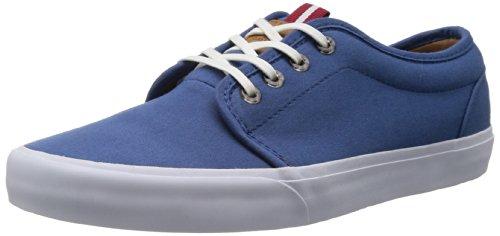 Vans Schuhe – 106 Vulcanized California (Brushed Twill) Dark Blue 40.5 (Erwachsenen-california Blue Schuhe)